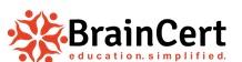 BrainCert – Cloud based e-learning platform