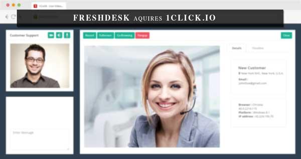 1Click-Freshdesk