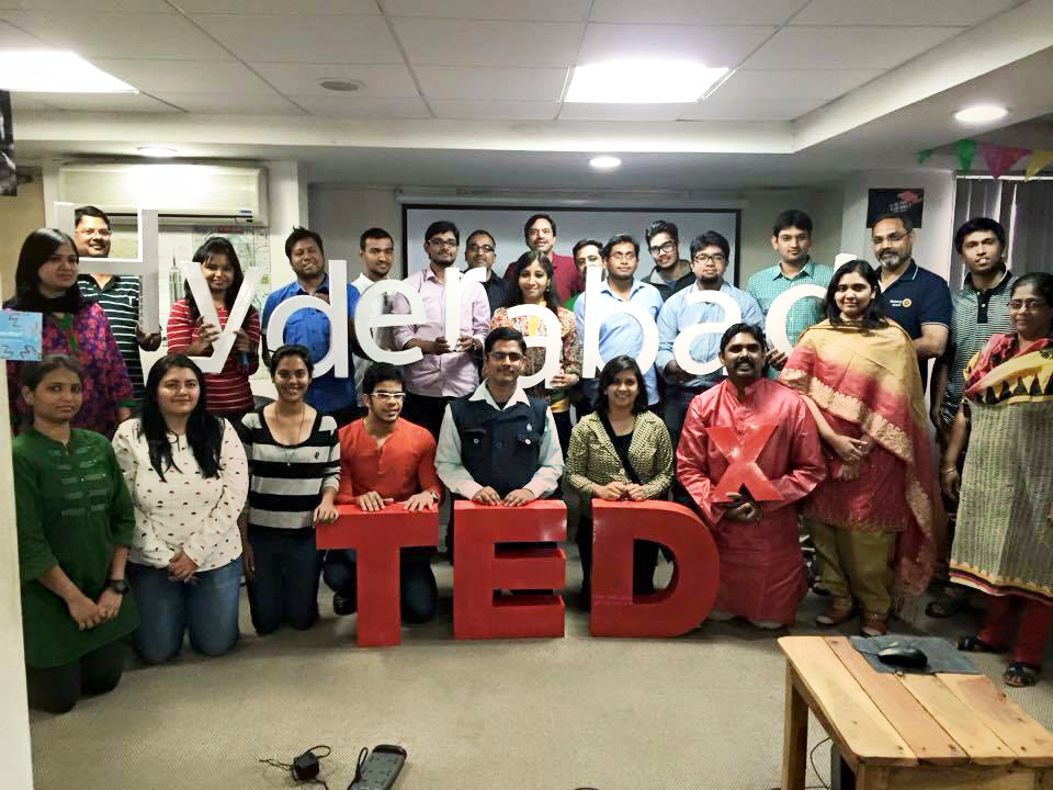 Meet the passionate bunch! Team TEDxHyderabad.