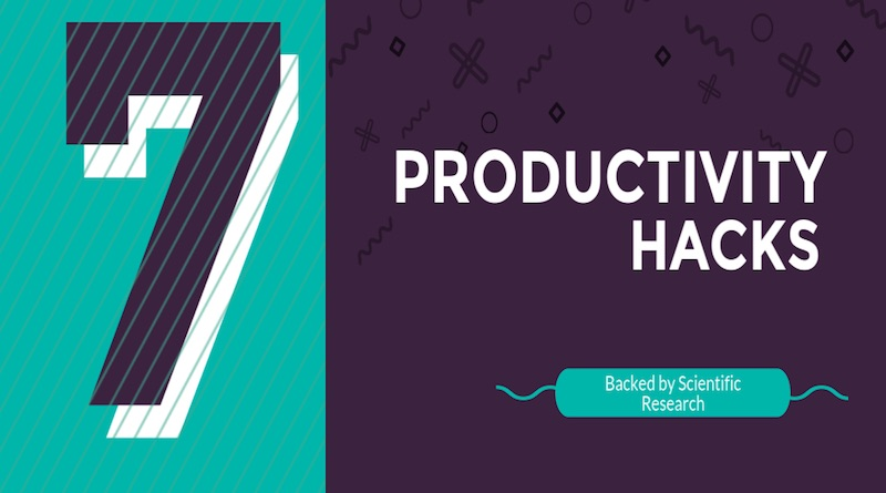 7 Productivity hacks