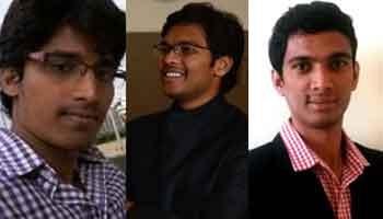 Rapido Co-Funders - Pavan G, Rishikesh Sr & Aravind Sanka