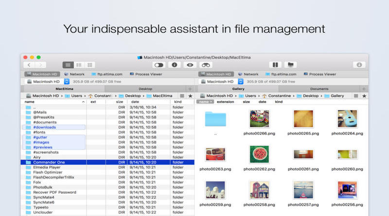 Commander One, A long awaited dual pane file manager for Mac