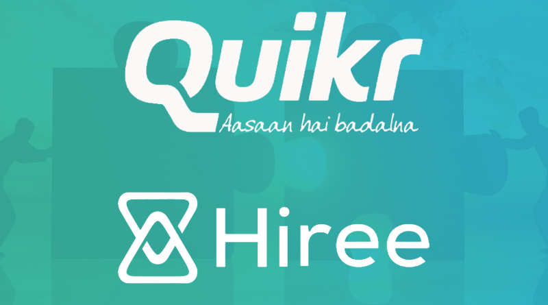 QuikrJobs Expands into White Collar Jobs by Acquiring Hiree