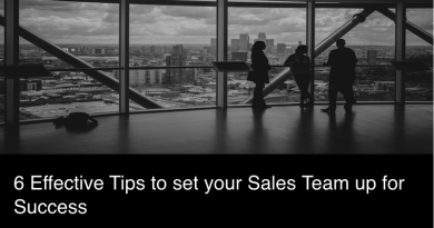 6 Effective Tips to set your Sales Team up for Success