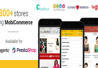 MobiCommerce helps building Mobile App for eCommerce Stores in just 4 steps
