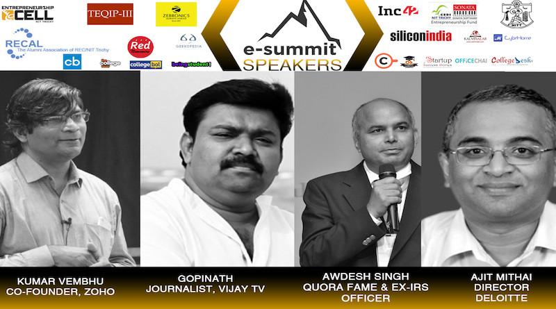 Entrepreneurship Summit | 16-Feb-2018 | NIT Trichy